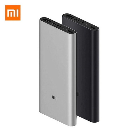 Power Bank Xiaomi Mi Power 3, 2xUSB, 10000mAh, 18W, QC2.0 silver (PB200LZM)(VXN4265CN)