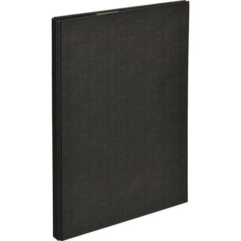 Планшет д/бумаг Attache A4 черный с верхней створкой