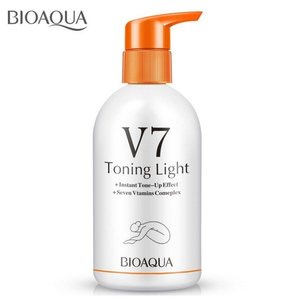 Bioaqua Увлажняющее Молочко для Тела V7 Toning Light, 250гр