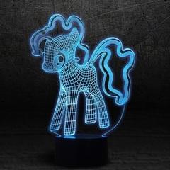 3D светильник c пультом Мой маленький пони