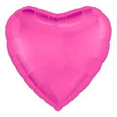Р Сердце, Розовый пион, 30''/76 см, 1 шт.