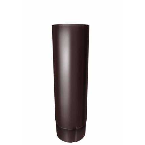 Труба круглая соед ф90-1м (RAL 8017-коричневый шоколад)
