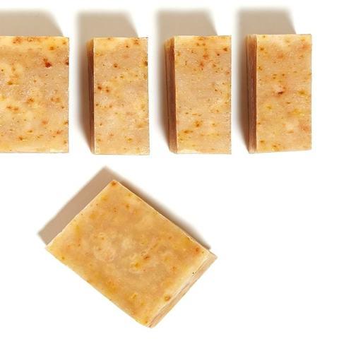 «Миндальный Лимон» натуральное мыло