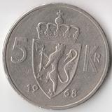 K5278, 1968, Норвегия, 5 крон