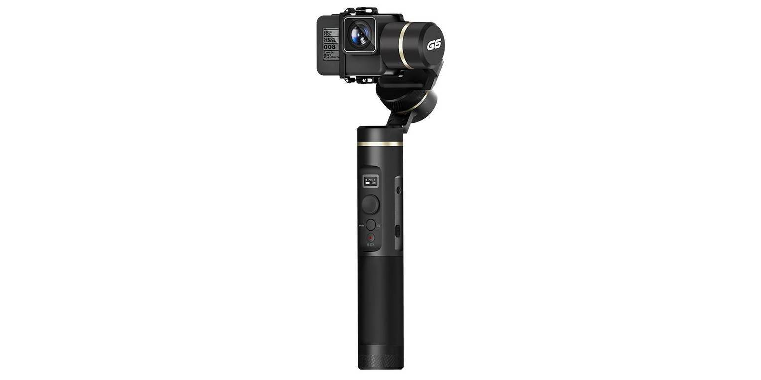 Стабилизатор-монопод для GoPro Feiyu-Tech Gimbal 3-Axis Hendheld Steady FY-G6 вид спереди