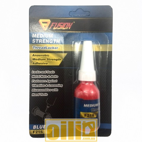 Fusion F216 MEDIUM STRENGTH THREADLOCKER BLUE 10ml