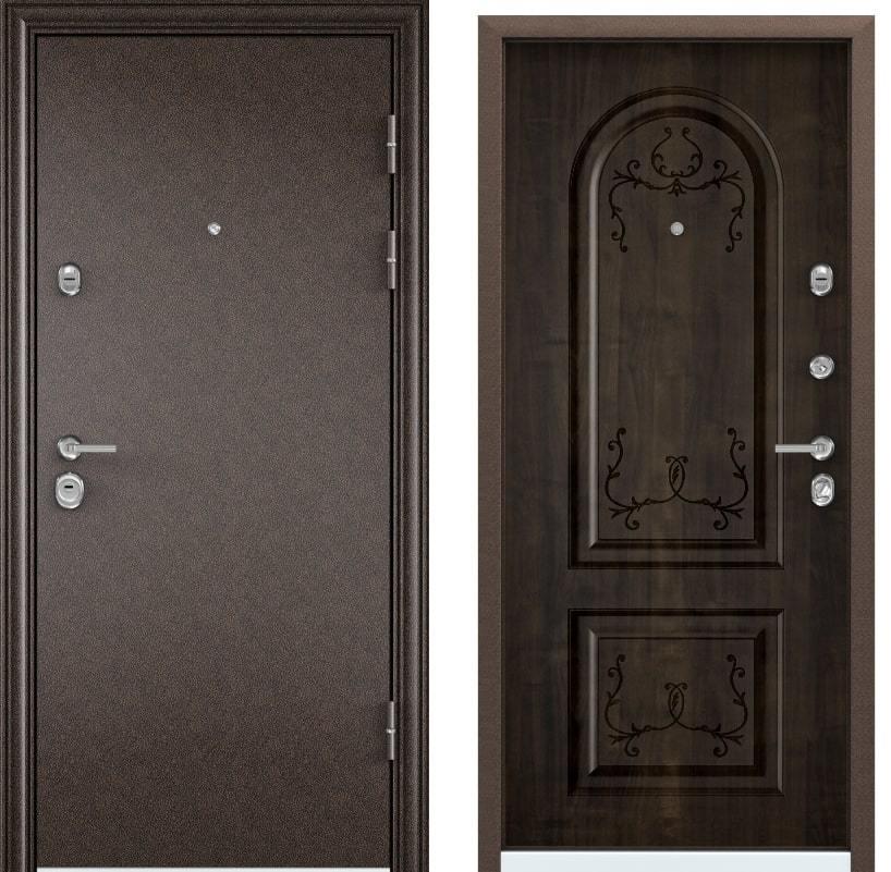 Входные двери Torex Ultimatum M медь PK-2U дуб морёный generated_image-4.jpg