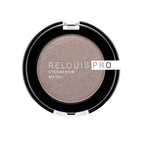 Relouis pro Тени для век Eyeshadow Metal тон 52 Cocoa milk