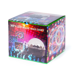 MP3 LED Magic Ball Light M6