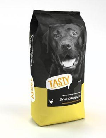 TASTY Petfood Корм для собак с Курицей 15 кг.