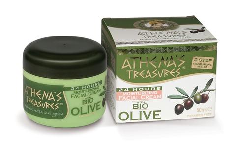 Увлажняющий крем для лица 24 часа ATHENA'S TREASURES