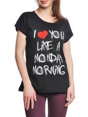 37662-10-3 футболка женская, черная