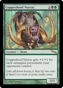 Copperhoof Vorrac