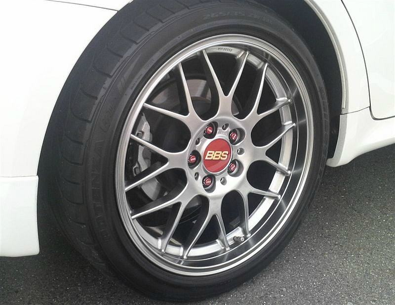 BBS Forged aluminium 1piece RG-R