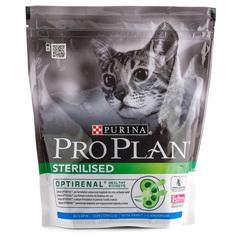 Корм сухой для стерилизованных кошек и кастрированных котов Pro Plan с курицеи и кроликом 400г
