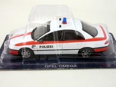 Opel Omega Police Switzerland 1:43 DeAgostini World's Police Car #61