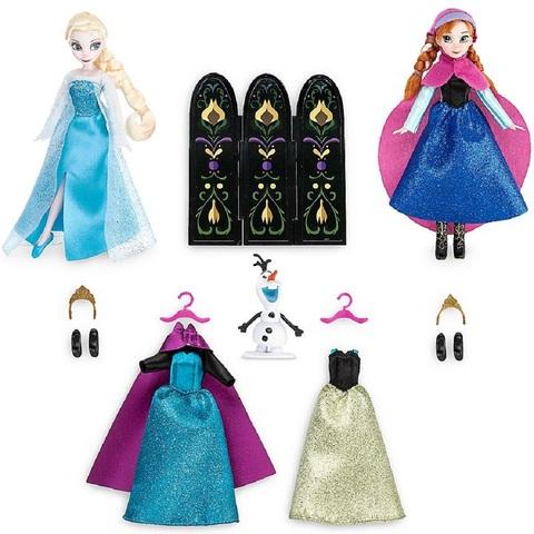 Дисней Холодное сердце мини-куклы Анна и Эльза 13 см