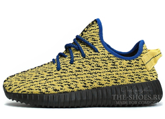 Кроссовки Женские Adidas Originals Yeezy 350 Boost Yellow Black
