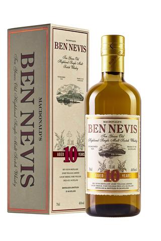 Macdonald`s Ben Nevis aged 10 years