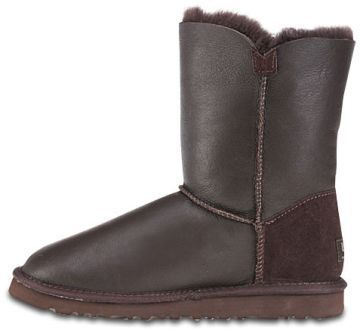 UGG Button Metallic Chocolate