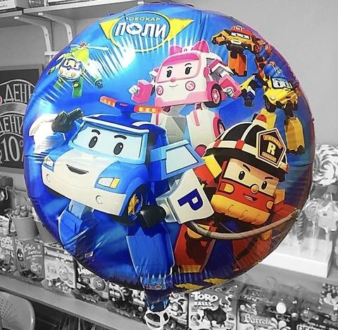Фольгированный шар «Робокар Поли» #24887