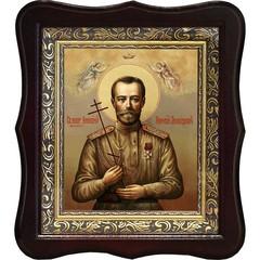 Николай II Святой Благочестивый царь-мученик. Икона на холсте.