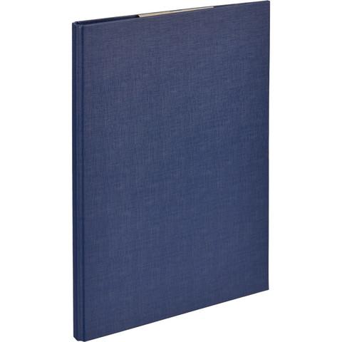 Планшет д/бумаг Attache A4 синий с верхней створкой