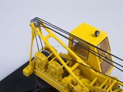ZIL-164 Truck Crane AK-75 blue-yellow Start Scale Models (SSM) 1:43