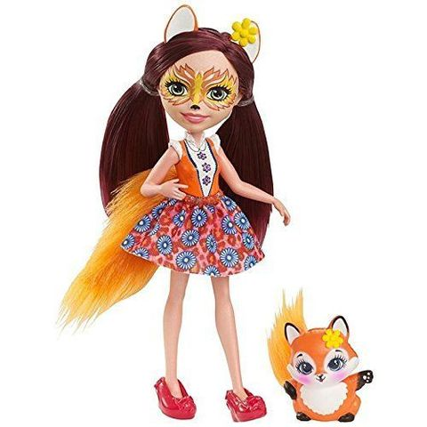Кукла Энчантималс Фелисити Лис и лисичка Флик (Felicity Fox и Flick) - Enchantimals, Mattel