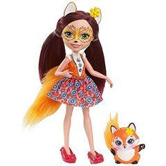 Кукла Энчантималс Фелисити Лис и лисичка Флик (Felicity Fox и Flick) - Enchantimals, Mattel