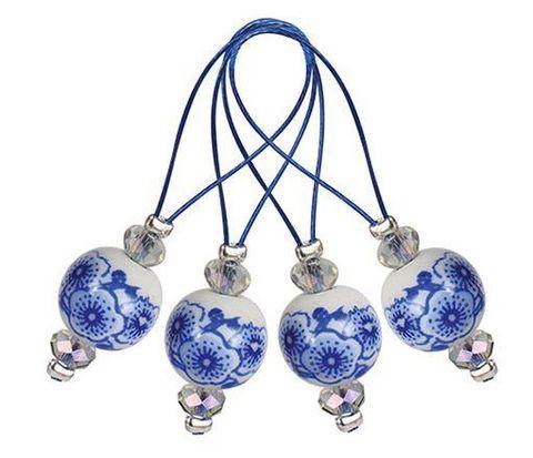 Knit Pro Маркеры для вязания Blooming Blue (12 шт.) 11256
