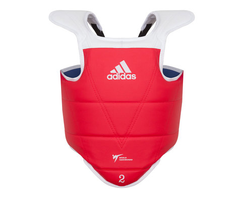Защита корпуса двухсторонняя Kids Body Protector Reversible WT сине-красная