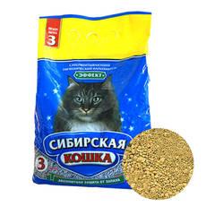Наполнитель для кошек, Сибирская Кошка Эффект