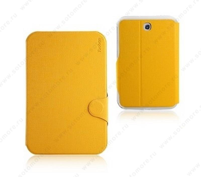 Чехол-книжка Yoobao для Samsung Galaxy Note 8.0 N5100/ N5110 - Yoobao iFashion Leather Case Yellow