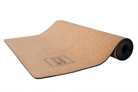 Пробковый коврик для йоги Boho Girl 183*61*0,3см