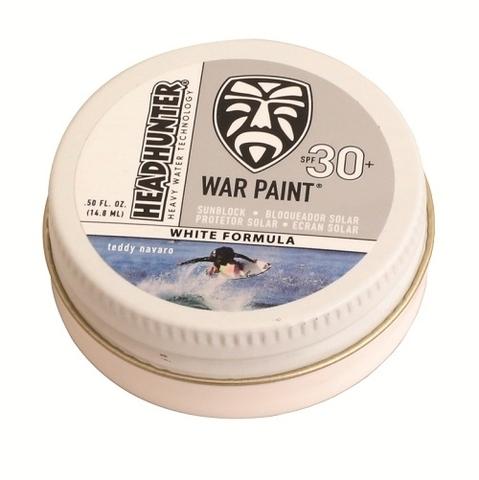 Крем для лица солнцезащитный влагостойкий  Headhunter War Paint SPF30 White 0.5oz /15ml