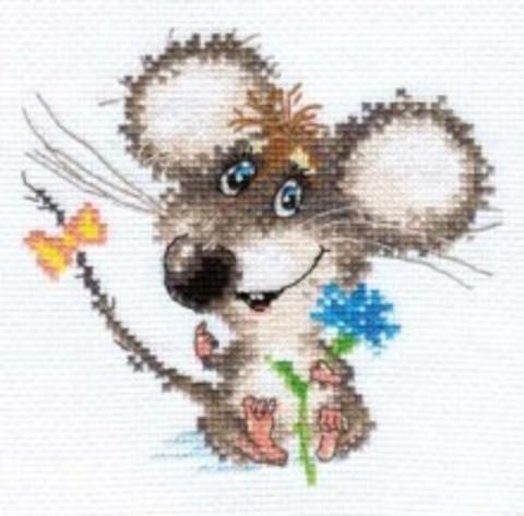 A0-77 Влюбленный мышонок