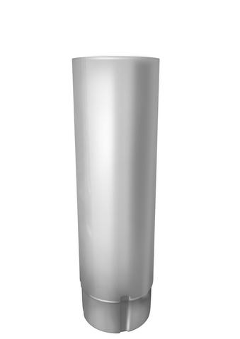 Труба круглая соед ф90-1м (RAL 9003)