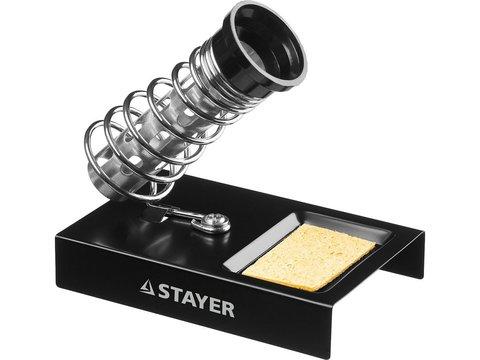 Подставка MAXTerm, STAYER 55318, для паяльников, штампованная