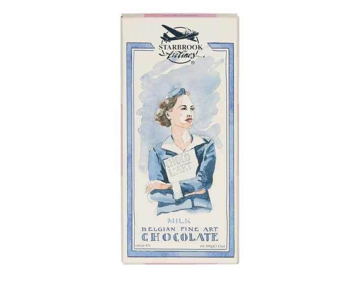 Молочный шоколад Starbrook Airlines, 100 г
