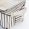 Корзина текстильная малая White