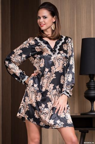 Туника женская шелковая Mia-Amore  Golden Flower 3317