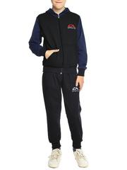 B2-3 спортивный костюм детский, черный