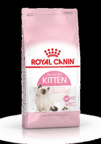 Royal Canin Kitten сухой корм для котят от 4 до 12 месяцев и беременных кошек 1,2 кг