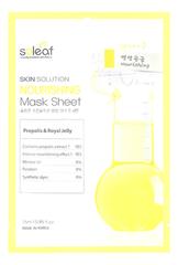 Тканевая маска для лица c маточным молочком и прополисом Skin Solution Nourishing Mask Sheet 25мл