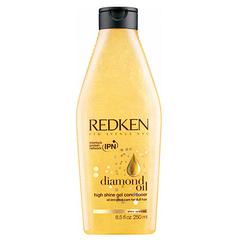 Redken Diamond Oil High Shine Conditioner - Гель-кондиционер обогащенный маслами для тонких волос 250 мл