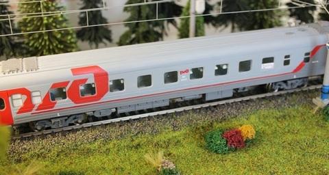 25X01 Модель Тверского пассажирского вагона РЖД , НО