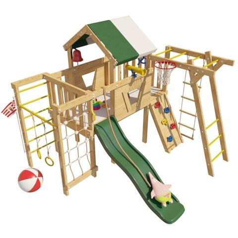 Детская деревянная игровая кровать-чердак Патрик