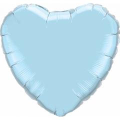 F 32 Сердце Светло-голубой