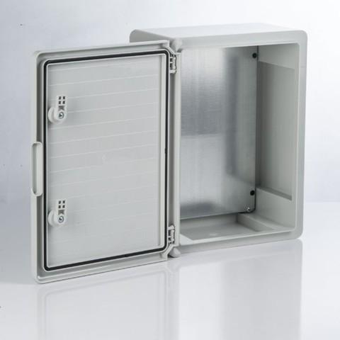 Бокс пластиковый ЩМП-0-6, ABS, IP65, -45 до +75 С, навесной, (500x400x180) TDM